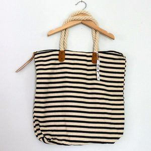NWT Summer & Rose Striped Tote
